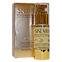 One Spring Snail Moisturizing Eye Cream (крем для век с улиткой), 35г