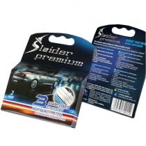2 сменных картриджа Slaider premium