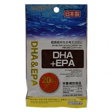 Daiso DHA+EPA(улучшает умственную деятельность), 40шт