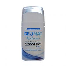 Дезодорант-кристалл DEONAT (стик, овальный, выдвигающийся), 100г