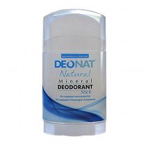 Дезодорант-кристалл DEONAT (стик, плоский, вывинчивающийся), 100г