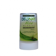 Дезодорант-кристалл DEONAT Сок АЛОЭ (стик), 40г