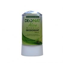 Дезодорант-кристалл DEONAT Сок АЛОЭ (стик), 60г