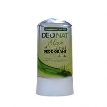 Дезодорант-кристалл DEONAT Экстракт АЛОЭ (стик), 60г