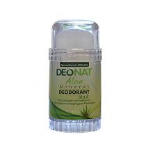Дезодорант-кристалл DEONAT Экстракт АЛОЭ (стик, вывинчивающийся), 80г