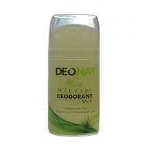 Дезодорант-кристалл DEONAT Сок АЛОЭ (стик , овальный, выдвигающийся), 100г
