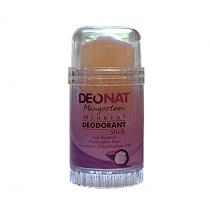 Дезодорант-кристалл DEONAT Экстракт Мангостина (стик, вывинчивающийся), 80г