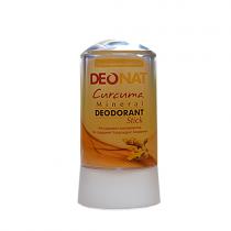 Дезодорант-кристалл DEONAT Экстракт Куркумы (стик), 60г