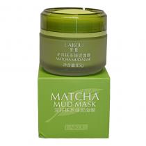 Очищающая маска с бобами Мунг, чаем Матча, глиной Laikou Matcha Mud Mask, 85г