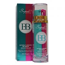 BioAqua Natural Flawless BB cream двухфазный ББ-крем+основа, 2х25г