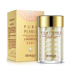 Омолаживающая ночная маска с жемчугом BioAqua Pure Pearls Sleep Mask, 120г