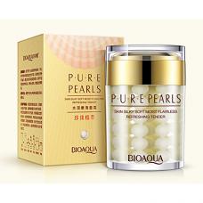 Жемчужный крем для лица с шелковистым покрытием BioAqua Pure Pearls, 60г