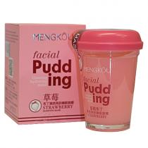 Маска для лица MENGKOU Facial Pudding Чилийская клубника (восстановление, идеальная кожа), 100г