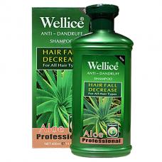 Шампунь для волос Wellice Алоэ и витамины (увлажнение и восстановление), 400г