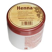Бальзам-маска для волос HENNA (для ослабленных и окрашенных волос), 250мл