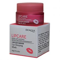 BioAqua Lip Sleepimg Mask питательная ночная маска для губ, 20г