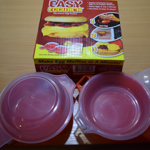 Easy Eggwich - омлет в микроволновке за 1 минуту.