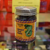 HERBAL-STAR Snake Thai Balm  Бальзам для тела с ядом змеи,50 гр.
