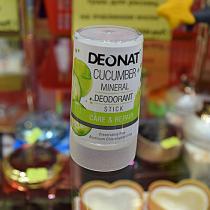 """Дезодорант-Кристалл """"ДеоНат"""" с экстрактом огурца, стик, 40 гр."""