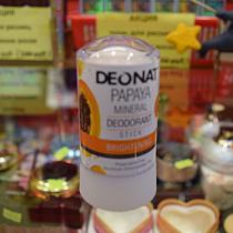 "Дезодорант-Кристалл ""ДеоНат"" с экстрактом папайи, стик, 60 гр."
