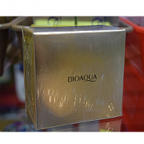 Гидрогелиевые патчи для области вокруг глаз с 24-каратным коллоидным золотом Bioaqu, 60 шт.