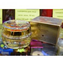 Крем для лица «SNAIL» с муцином улитки и нанозолотом – увлажняющий 50 гр.