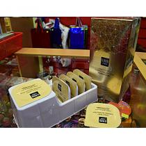 Несмываемая ночная маска для лица с частицами золото Senana, 6 шт.х 7.5 гр.