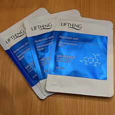 Liftheng Увлажняющая маска для лица с лактобактериями и гиалурновой кислотой, 25 гр.