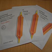 Тканевая маска c экстрактом цитруса Юдзу Images Blood Orange Facial Mask, 25 мл.