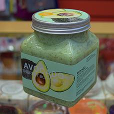 Скраб для тела с авокадо Pretty Cowry Avocado Body Scrub, 500 мл