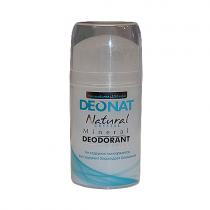 Дезодорант-кристалл DEONAT цельный (стик, выдвигающийся), 100г