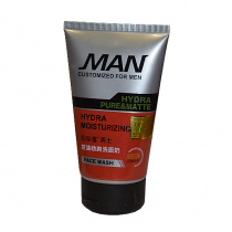 Мужская пенка для бритья и умывания BioAqua Hydra Moisturizing Face Wash, 100г