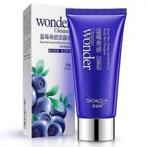 Очищающая пенка для лица с экстрактом черники BioAqua Wonder Cleanser, 100г