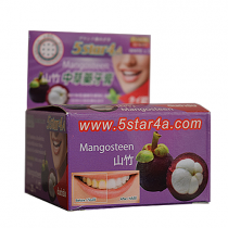 Твердая Зубная паста МАНГОСТИН ТМ 5star4a, 30г