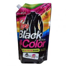 Жидкое средство для стирки Wool Shampoo Black&Color, 1,3л