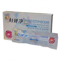 Гель антибактериальный (для интимной гигиены), 5 инжекторов по 3г в индивидуальной упаковке.