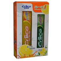Набор зубных паст «CNICE» с витамином С, 160г + 90г